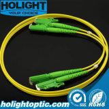 Cuerdas de corrección de fibra óptica E2000/APC