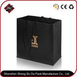 Bolsa de papel de empaquetado modificada para requisitos particulares del regalo monocromático de la impresión del diseño