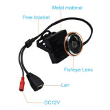 機密保護CCTV Fisheye 1.78mmレンズのEffio-P 700tvlカラーCCDの小型カメラ