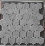 Comitato di parete di marmo bianco freddo del mosaico di Carrara