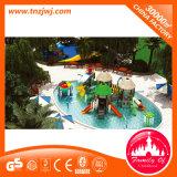 O parque personalizado da água desliza o campo de jogos da água na piscina