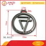 2017 новый продукт для скрытых полостей металлической круглой формы метке логотип