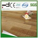plancher ciré de stratifié d'épreuve de l'eau gravé en relief par 12mm (1013)