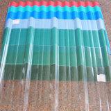 Hoja acanalada a prueba de balas reciclada Lexan del policarbonato para el término de autobuses