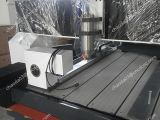 Router di pietra di CNC con l'asse rotativo per la pietra tombale
