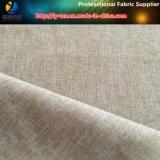 Heather Grey Sueded Gabardine, Tissu en polyester à deux tons