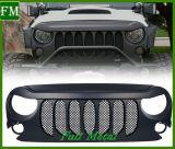 Sieben Schlitze konfrontieren Nettostoßgitter für JeepWrangler 2007-2017