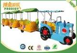 Indoor Attraction Playground Equipamiento Eléctrico Trackless tren para niños
