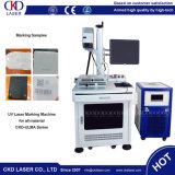 UV машина маркировки лазера для стекла