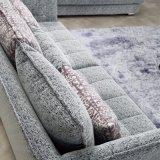 ホテルのベッド部屋の家具Fb1115のための高品質の印刷ファブリックカバーが付いている現代デザイン部門別のソファー