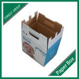 De douane drukte de Vouwbare Verpakkende Doos van het Karton van het Karton af
