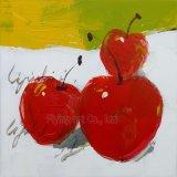 Handmade акриловая картина маслом искусствоа для плодоовощ вишни