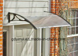 Hoja manual del policarbonato del material de construcción de DIY para el pabellón al aire libre del abrigo del toldo de la puerta