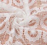 Venda por grosso de tecido de Renda Coreano Moda Tulle Lace Bordados personalizados de tecido de malha de renda de tecido