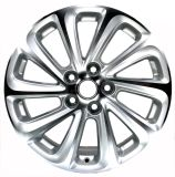 La rotella poco costosa borda gli orli argentei dell'automobile 18X8.0j per Buick
