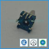 11mm Verticale blauwe Roterende Stijgende Codeur voor Audio