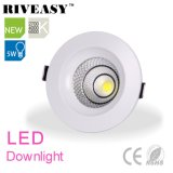 5W LED Downlight Spotlight con controlador integrado LED Downlight