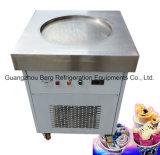 工場供給の商業二重平たい箱の鍋によって揚げられているアイスクリーム機械