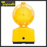 Lentille orange PC 2PCS Super Bright LED clignotante des feux de circulation