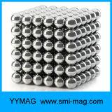 Imán de neodimio de 5mm juguetes bolas Neocube imán