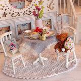 Casa de muñeca de madera educativa barata del juguete