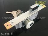 serratura di portello di alluminio del hardware del portello 81054-C1 che fa scorrere serratura con il tasto