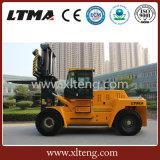 Chariot gerbeur lourd prix diesel de chariot élévateur de capacité de 20 tonnes
