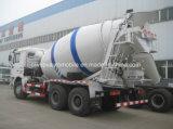 Dongfeng 6X4 10tons 구체 믹서 트럭 10 Cbm 시멘트 트럭