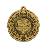 Antique Gold Award Souvenir Medal Medal Sports Corporation personalizzato superiore