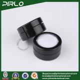 5 g de pot noir en plastique de 5 ml en poudre en plastique avec tamis et capuchon de fenêtre