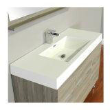 Shouguang Fushi matériau PVC en bois de la carcasse et classique de style moderne salle de bains Meuble vasque