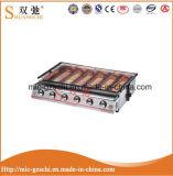 Roaster ambiental principal Sc-233 do aço inoxidável do BBQ seis do gás