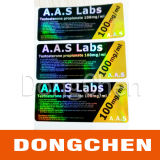 Hologram Testosterone Propionate 100mg / Ml 10 Ml Labels