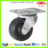 Black Hard Rubber Caster (P108-53B050X22)