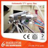 UV линия покрытия брызга политуры, вакуум металлизируя проект