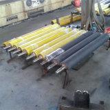 Máquinas têxteis e rolo de borracha resistente à corrosão