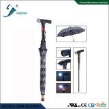 Canne intelligente rechargeable avec la radio et parapluie conforme pour le ce. RoHS, FCC