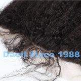 Capelli cinesi di Remy della chiusura frontale ondulata del merletto