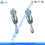 Form-Stahl heißes BAD galvanisierter faltender Grapnel-Anker