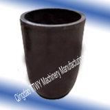 Creuset de graphite de carbure de silicium de tailles importantes pour Castin