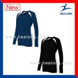 Healongの適性は販売のためのデジタル印刷の女性バレーボールのワイシャツに着せる