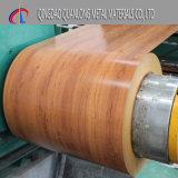 La bobina d'acciaio preverniciata reticolo di legno/ha preverniciato la bobina d'acciaio d'acciaio galvanizzata di Coil/PPGI