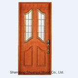 中国の製造の卸売価格の機密保護の純木の内部ドア