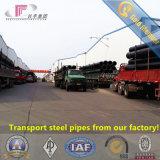 Fornitore della Cina della conduttura d'acciaio di alta qualità ERW