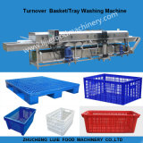 Lavadora plástica automática industrial de la cesta/del rectángulo