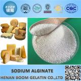 Aditivos alimentares Pó branco Alginato de sódio