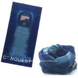 Шарф Headwear поставщика Китая продукции OEM напечатанный логосом выдвиженческий голубой многофункциональный