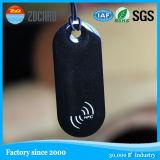 Etiket NFC van het Metaal RFID van het Embleem van Customed het Kleine Anti