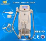 最も新しいEライトIPL Elos顔装置及び808nmダイオードレーザー(MB810D)