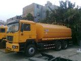 Using o caminhão de petroleiro da água de Shacman 26m3 6X4 da tecnologia do homem